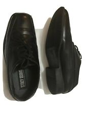 Stacy Admas youth boys Black Dress Shoes Size 2M