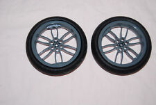 Lego Motorcycle Tire Assemblies Lot 2 Smooth 94.2 x 22 for 9449 7158 8051 42036