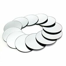 """10 pcs  Round 8"""" Glass MIRROR Wedding Table Decorations PARTY Centerpieces"""