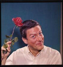 Dick Van Dyke holding red rose Vintage Original 2.25 x 2.25 Transparency 1960's