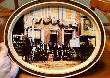 Vintage Stauffer Biscuit Tin Tray, Pennsylvania Dutch History