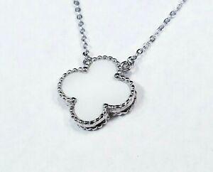Van Cleef & Arpels Vintage Alhambra 18k Mother of Pearl Pendant Necklace