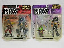 Mcfarlane Toys KISS Psycho Circus Gene Simmons & Paul Stanley Action Figures