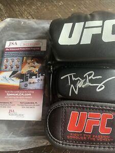 Thug Rose Namajunas Autographed Signed UFC Glove JSA COA