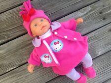 Kleidung + Jacke für first ANNABELL Chou Baby Puppe 36-38 Puppenkleidung Katze