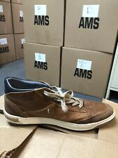 Bull Boxer Men's Size 11 Cognac Sneakers Shoes Leather Lace Up Casual Laytone