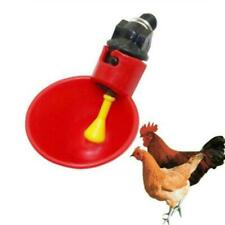 Chicken Drinking Cup Bird Quail Water Bowls Animal Cage Tool Feeder L2D5