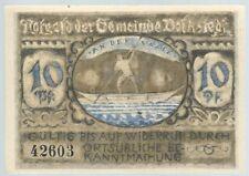 Notgeld - Gemeinde Volkstedt - 10 Pfennig 1921