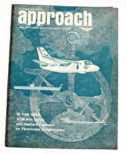 Great Collectable Magazine– APPROACH–A NAVAL SAFETY CENTER Publication–June 1975