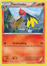 Fletchinder Uncommon Pokemon Card XY2 Flashfire 17/106