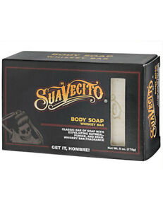 Suavecito Exfoliating Moisturizing Body Wash Soap Whiskey Bar Scent 6oz / 170g