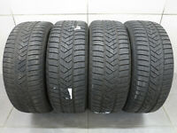 4x Winterreifen Pirelli Sottozero Winter 3 225/45 R18 95H - MO - DOT xx18