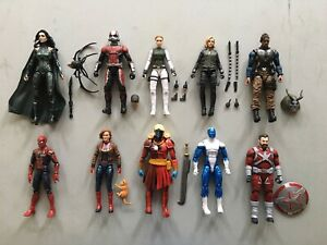 Marvel Legends 6in MCU Figure Lot A Spider-Man Black Widow Hasbro New Loose NR