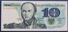 # Polen Banknot 10 zł - seria N z 1982 roku UNC - od 7,99 zl #