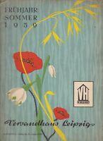 Katalog Nr. 6 Frühjahr-Sommer 1959 Versandhaus Leipzig DDR GDR