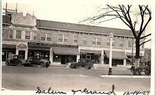 Vintage Photograph OH Dayton Salem & Grand Ave 1927 A&P Groceries COPY #1