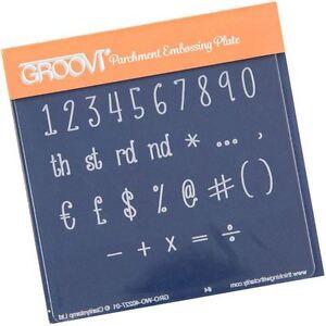Numbers & Symbols Groovi Baby Plate