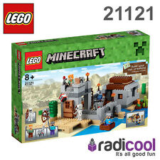 21121 LEGO The Desert Outpost MINECRAFT Age 8+ / 519 Pieces / NEW 2015 RELEASE!