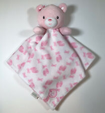 Little Me Teddy Bear Security Blanket Pink Ballerina Ballet Shoes Bow Lovey Toy