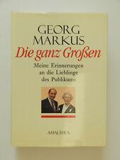 Georg Markus Die ganz Großen Erinnerungen Lieblinge des Publikums Buch