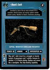 STAR WARS CCG DAGOBAH BLACK BORDER DARK SIDE HOUND'S TOOTH