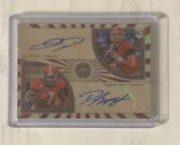 D'Andre Swift & Jake Fromm 2020 Panini Legacy SSP Prizm  Dual Auto Rookie 12/15