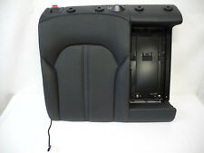 Audi A6 4G Soda Backrest Rear Right Leather Seat Leather Upholstery Black