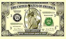 NEW 3x5 3' x 5' Sand Rail ATV UTV RV Whip Flag - Million Dollar Bill