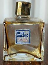 VINTAGE DELAVELLE BLUE ORCHID cologne perfume bottle for COLLECTORS