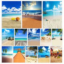 Summer Beach Photography Background Photo Studio Backdrop Props