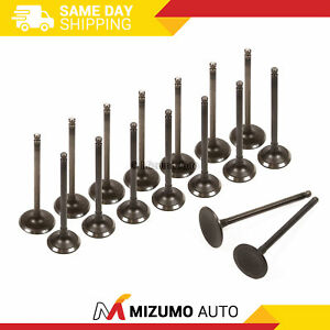 Intake Exhaust Valves Fit 04-10 Subaru Forester Legacy Outback TURBO 2.5L DOHC