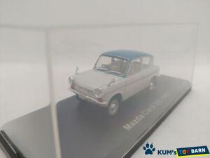 1:43 NOREV Hachette Domestic Famous Car Collection Mazda Carol 360(1962) White