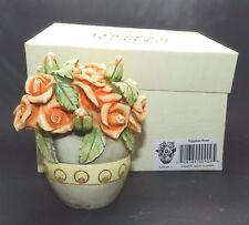 Edition 1 Lord Byrons Harmony Garden Egyptian Rose Hg4Er Flower Vase Figurine