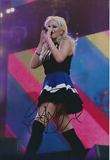 Pixie LOTT SIGNED Autograph Sexy 12x8 Photo AFTAL COA Singer Turn It Up Album