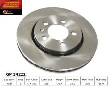 Disc Brake Rotor-R32 Rear Best Brake GP34222