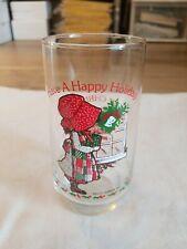 Holly Hobbie Christmas Glass Limited Edition Coca Cola