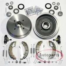 VW Golf 2 II - Bremstrommeln Bremsen Kit mit Radlager für hinten die Hinterachse
