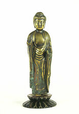 Antique Japanese  Buddha Bronze Statue