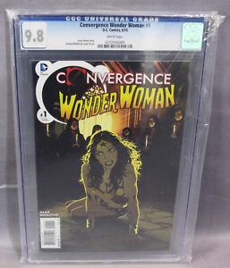 CONVERGENCE WONDER WOMAN #1 - CGC 9.8 - NM/MT - DC Josh Middleton cover & art!