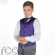Púrpura Para Niños & Gris Traje, TRAJE CEREMONIA NIÑO, Boda, niños, diamante
