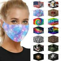 Protective Face Mask 5 Layers Filter Dust PM2.5 Protection Washable Reusable UK