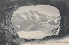 Jungfraubahn Schweiz 1908 - Station Eismeer - AK Ansichtskarte Postkarte Bahn