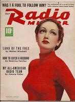 RADIO MIRROR • MAY 1939 • DOROTHY LAMOUR • Cover ROBERT RIED