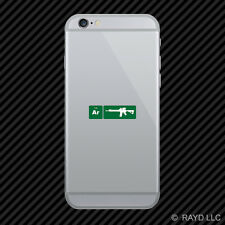 AR15 Element Periodic Table Green Cell Phone Sticker Mobile ar 15 2a 2nd