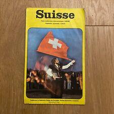Carte routière Touristique ❤️ Fédération Suisse des Aveugles - Swiss Map