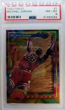 1993 93 Finest Michael Jordan #1, Graded PSA 8, Chicago Bulls HOF, Vintage MJ!