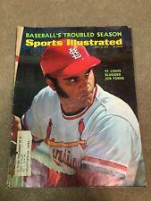 FM2-12 Sports Illustrated Magazine 4-10-1972 JOE TORRE Cardinals