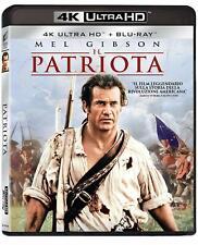 Il Patriota Mel Gibson 4k Ultra HD Blu Ray Universal