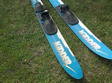 PAIR OF KIDDER 2001 HIGH PERFORMANCE COMBO SKIS LOCAL PICK UP ONLY