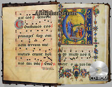 Antiphonarium - book containing the choral parts of the Holy Office 1442 AD